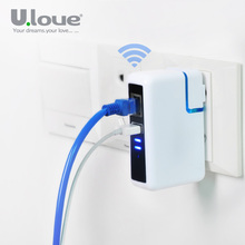 ULOVE Universal Wifi Router Extender USB Charger Travel WI-FI Repeater With Phone Charger For iPhone Samsung Xiaomi Huawei iPad(China (Mainland))