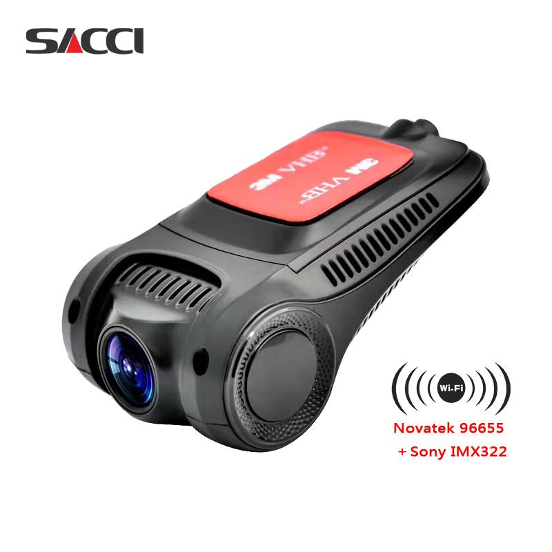 Sacci R3 wireless hidden mini camera NT96655 Sony IMX322 WiFi 1080P Car DVR Registrator Dash Camera recorder Cam DVRs dashcam(China (Mainland))