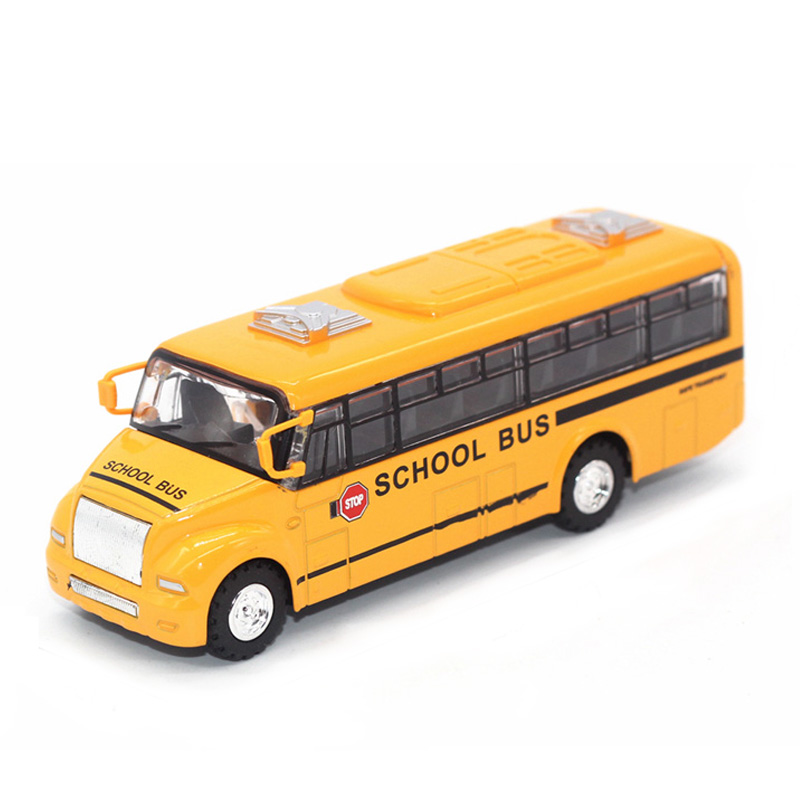 New Minibus Alloy Diecast Model Car Toy Bus Door Openable Alloy Model Car MiniVan As Gift Collection For Boy Freeshipping(China (Mainland))