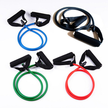 Fitness Resistance Bands Resistance Rope Exerciese Tubes Elastic Exercise Bands for Yoga Pilates Workout Free Shipping  61079(China (Mainland))