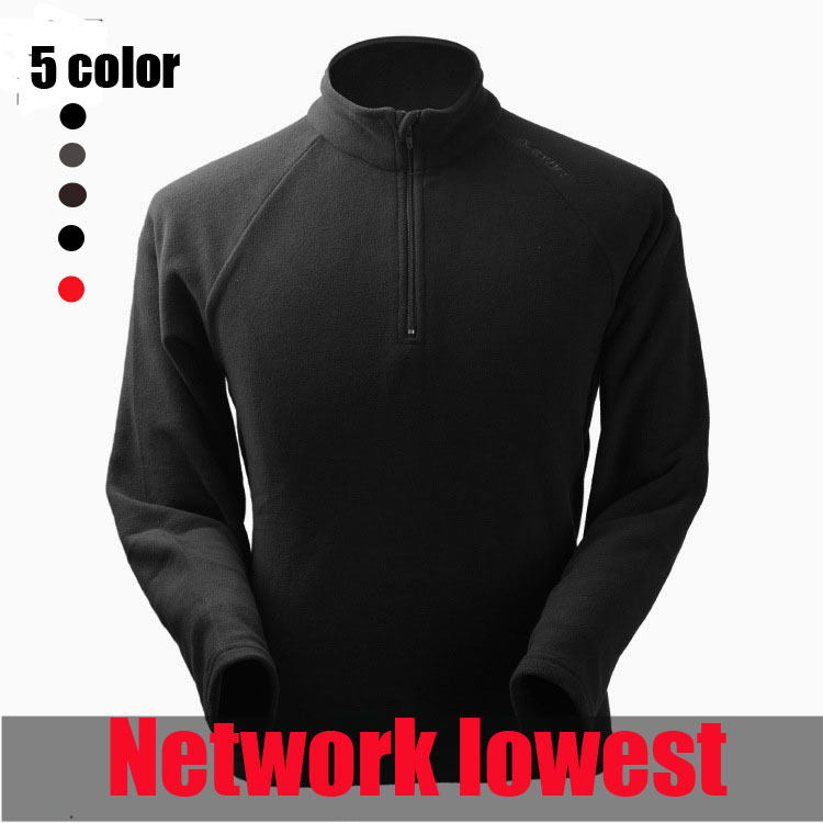 Free Shipping Outdoor Fleece Soft Shell jackets new spring men sports Windproof windstopper warm fleece jacket liner(China (Mainland))