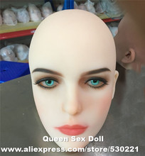 Buy Top #51 cyberskin sex doll head silicone adult dolls real human dolls, oral sex prodcuts for $203.40 in AliExpress store