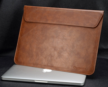 New PU Leather laptop Notebook bag For Apple Air Pro Retina 11 13 inch Computer Sleeve Protector For Mac book
