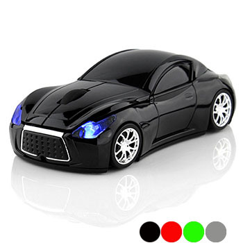 New Fashion Infiniti Sports Car 2.4GHz Wireless Mouse 1600DPI Optical Gaming Mouse Mice for Computer PC free shipping(China (Mainland))