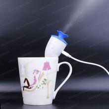 10PCS Mini Ultrasonic Humidifier Mist Maker USB Humidifier Car Aromatherapy Essential Oil Diffuser Atomizer Air Purifier Fogger
