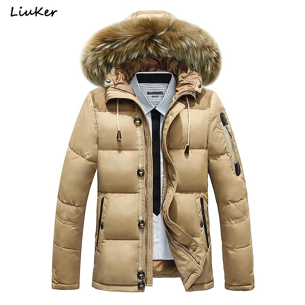 2015 Winter Men's Long Designer Down Jackets Coats Men Fashion Thick Warm Brand Jacket Parka For Mens Clothing White Duck Down(China (Mainland))
