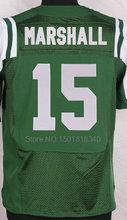 #15 Brandon Marshall #24 Darrelle Revis #87 Eric Decker Jersey Elite Stitched Football Jersey(China (Mainland))