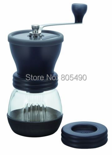 Portable Washable Ceramic Manual Burr Coffee Grinder