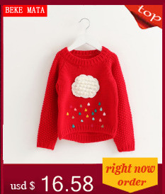 Kids Sweaters And Pullovers Spring 2017 Casual Toddler Boy Sweater Cotton Warm Knitted Sweater Girls Clothes Children's Cardigan