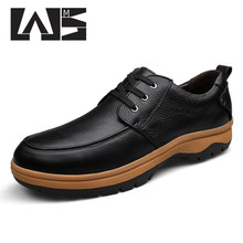 2016 Flats New Arrival Authentic Brand Quality Casual Men Genuine Leather Loafers Shoes Plus size 45-53 Big Size Shoes(China (Mainland))