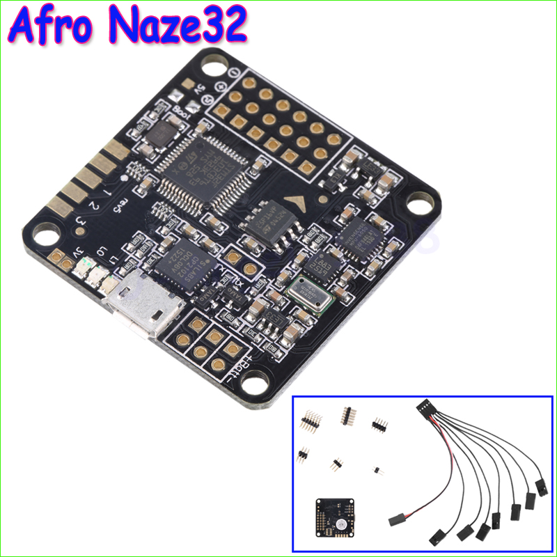 Wholesale 1pcs Afro Naze32 Naze 32 6DOF 10DOF Flight Controller Board For QAV250 ZMR250 Quadcopter