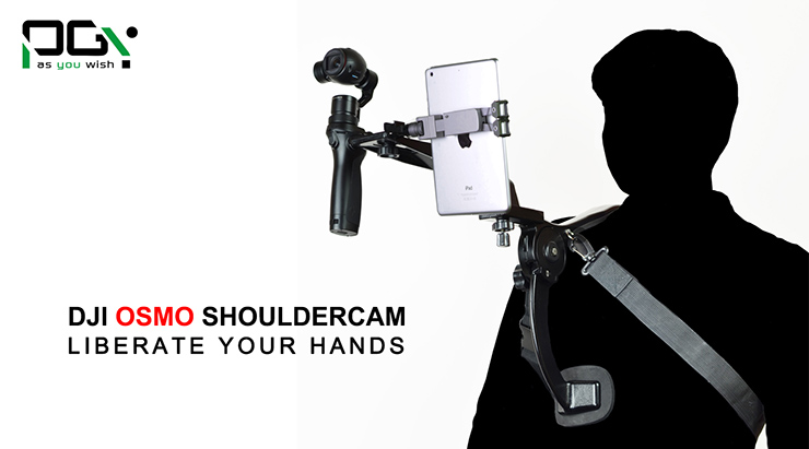 Shoulder Brace OSMO Accessory for DJI OSMO Hands Free Video Artifacts