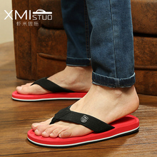 Fashion summer shoes women flip flops female beach slippers water-resistant high-heeled slippers hand made flower sandle