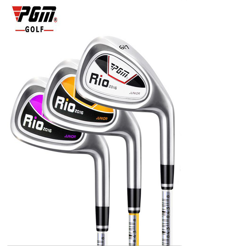 PGM genuine golf clubs Children Graphite shafted for the 9-12 year oldsChild beginner exercise bar 7 irons(China (Mainland))
