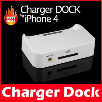 New Charger Sync Dock Cradle for Apple iPhone 4 4G 4S 4GS 4TH