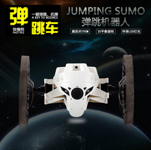 2015 HOT Bounce Car  RC Cars 4CH 2.4GHz RC toy Car with Flexible Wheels Remote Control Robot Car Free Shipping Jumping Sumo(China (Mainland))