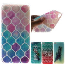 Fashion butterfly deer flower Pattern Soft TPU Silicon sFor lenovo S90 case For lenovo s90 S 90 S90T S90U Case Phone Cover