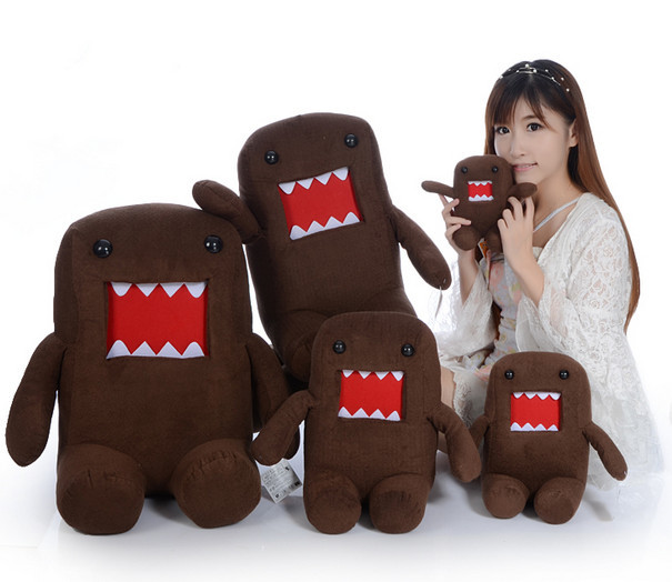 hot sale domokun funny domo kun stuffed doll creative throw pillow cushion the kawaii domo kun plush toy<br><br>Aliexpress