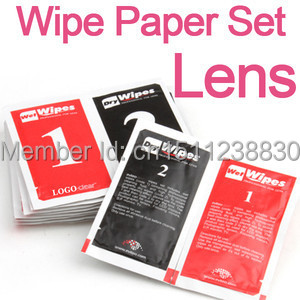 10x DSLR Camera Lens LCD Screens Dust Removal Wet Dry Cleaning Wipes Papers Y126 O0vKFT(China (Mainland))