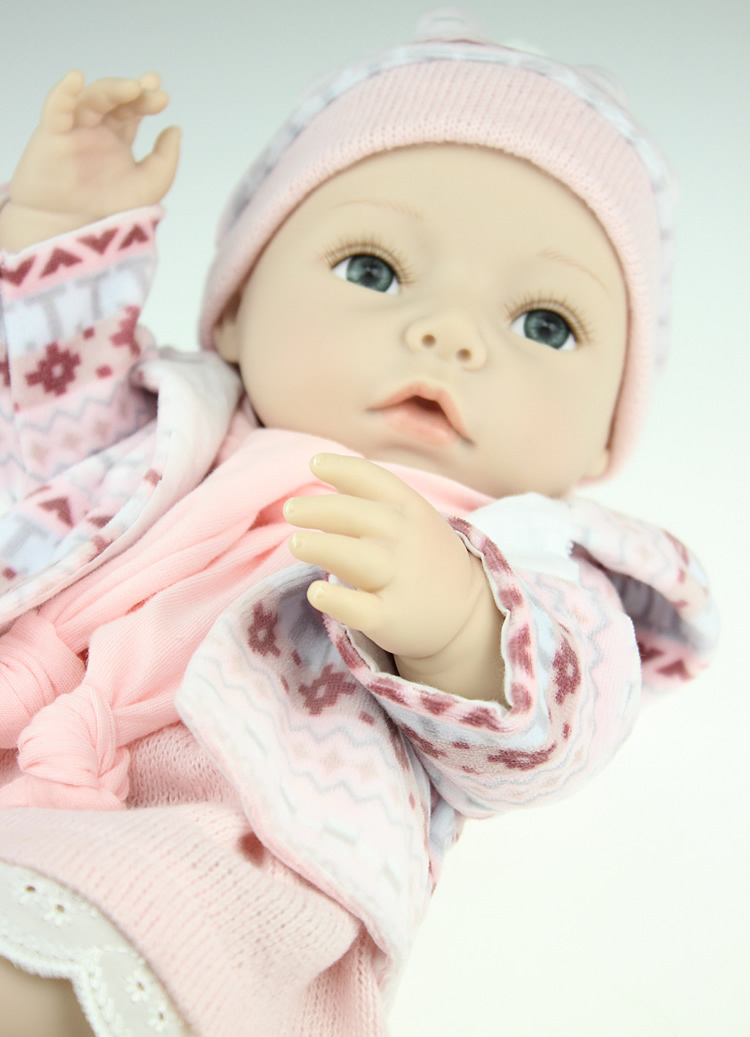 Fashion 16 Inch 40cm Real Looking Baby Dolls Collectible
