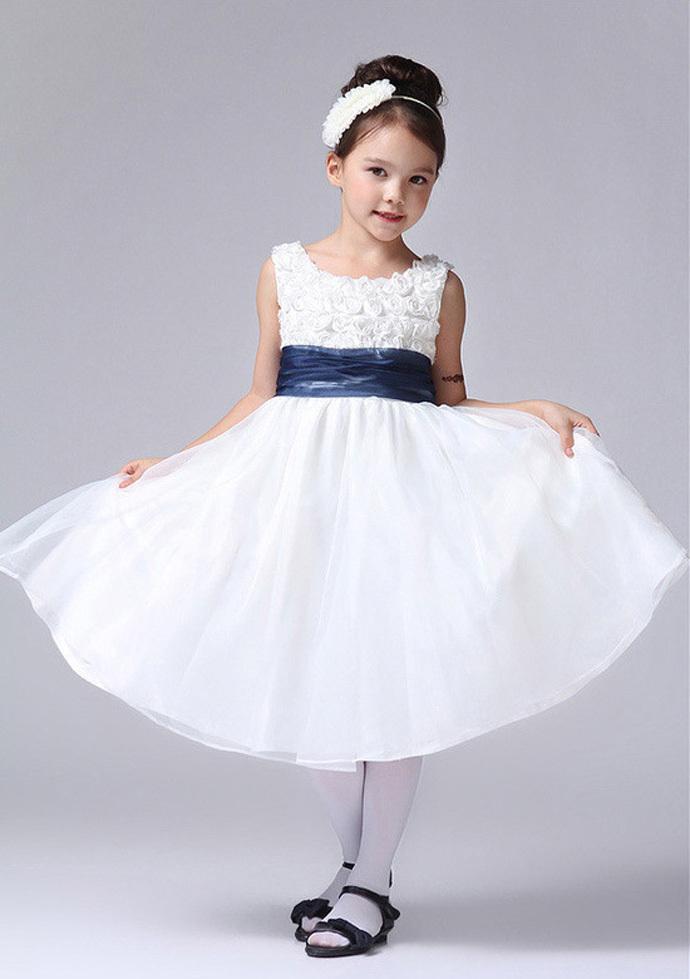 Baby Girl Dress Frock Red Princess Little Girl Dress