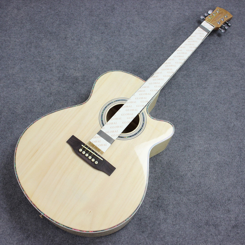 2015 NEW guitars 40-2 40 inch high quality Acoustic Guitar Rosewood Fingerboard guitarra with guitar strings<br>