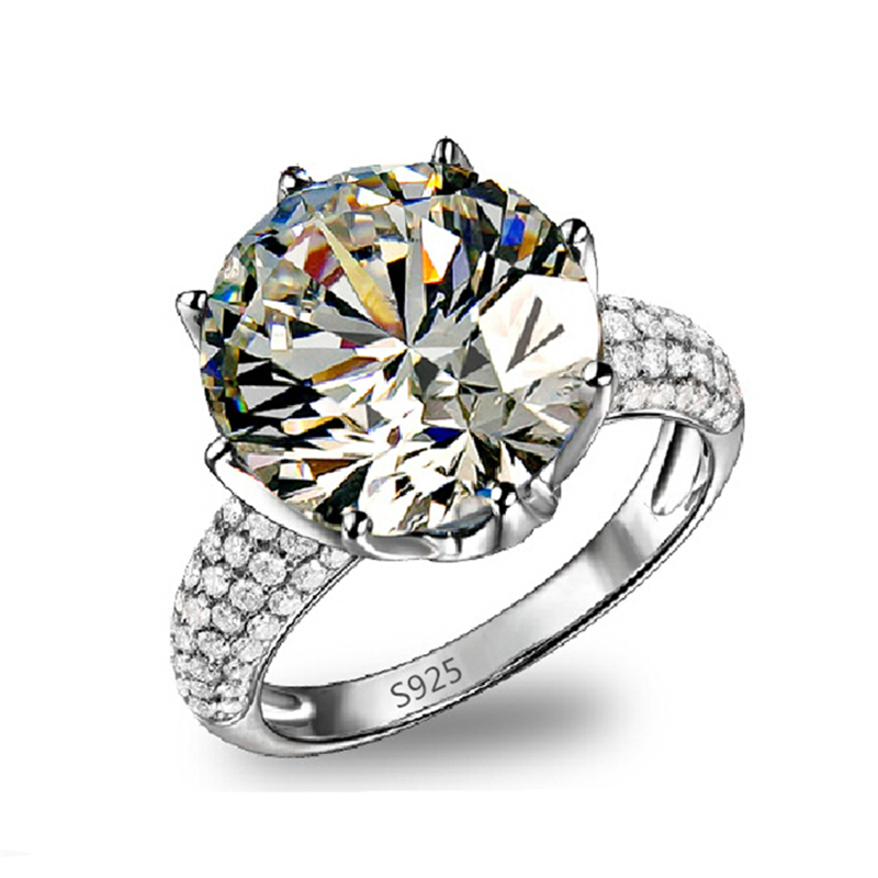 Big AAA zirconia Jewelry gold plated filled Rings for women luxury engagement wedding party ring bague bijoux accessories MY064(China (Mainland))