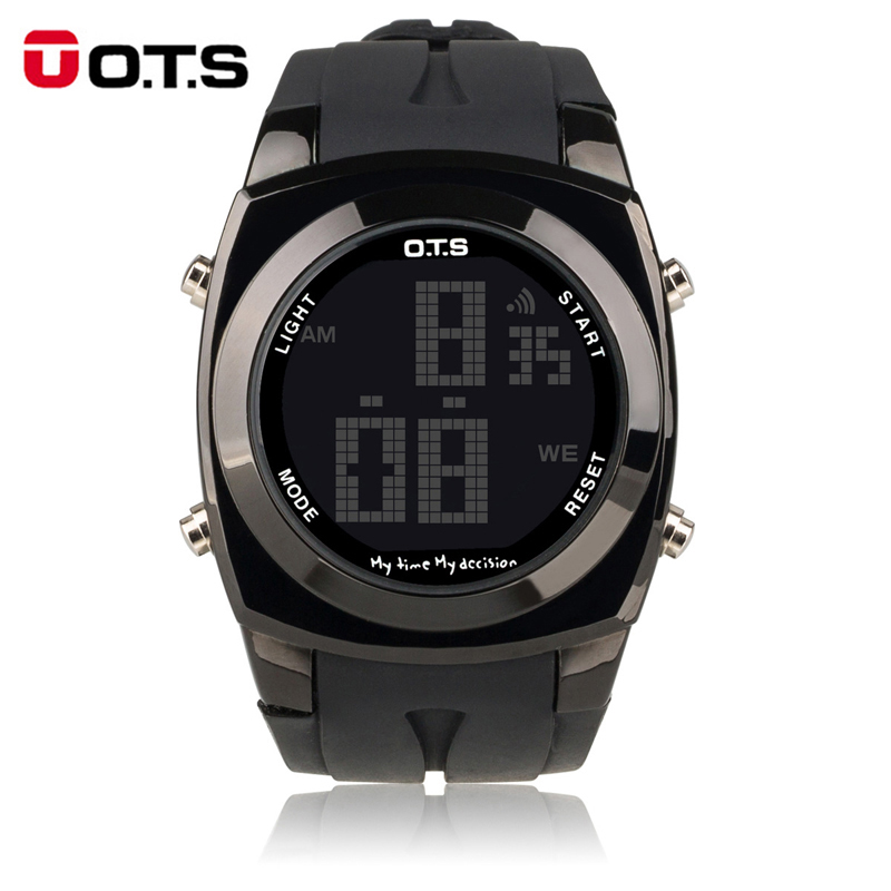 Men LED wrist Watches Digital tactical sport watch Waterproof military army clock OTS top brand(China (Mainland))