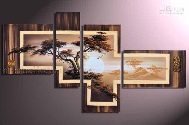 FRAMED handmade oil painting on canvas modern K009 100% original directly from artist