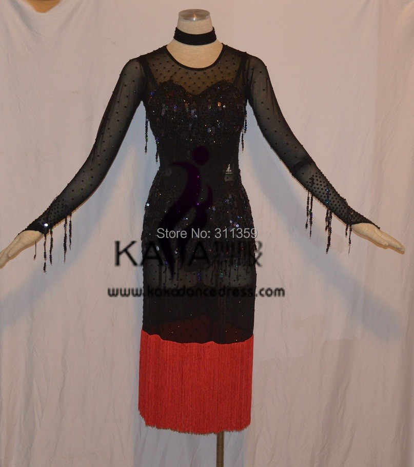 KAKA-L1513,Women Dance Wear,Girls Fringe Latin Dress,Salsa Dress Tango Samba Rumba Chacha Dress,women dressОдежда и ак�е��уары<br><br><br>Aliexpress