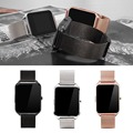 Original Metal Smart Watch 1 50 inch MTK2502 Bluetooth4 0 Genuine Leather Band Answer the call