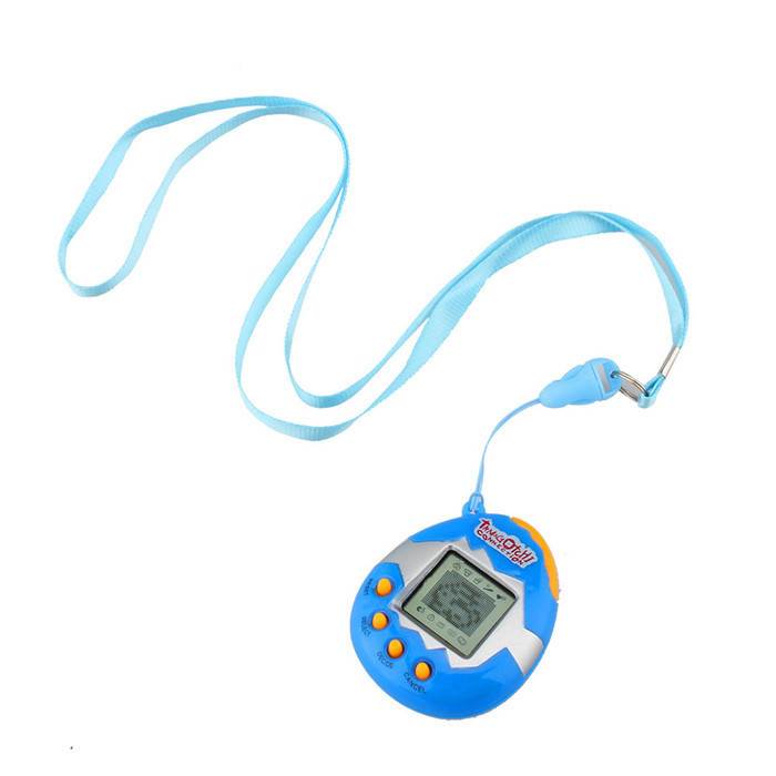 2015 new Plastic Virtual Digital Game Machine Funny Cyber 3 Colors Pet Toy High Quality Electronic Pets Blue Red Yellow Color(China (Mainland))