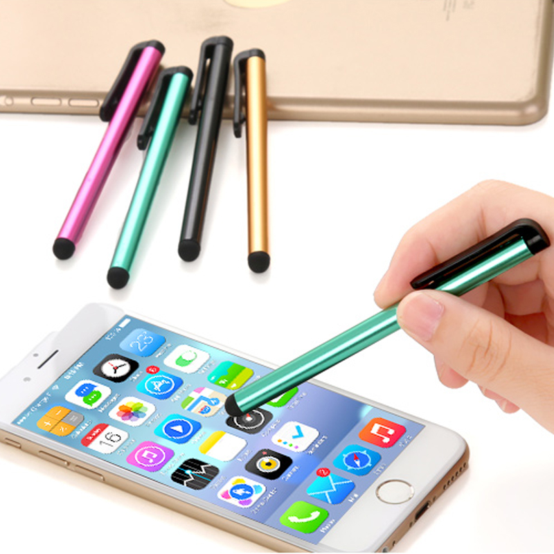 Universal Metal Pen Capacitive Screen Stylus Tablet Mobile Phone Touch Pen For iPhone iPad Samsung BQ Asus Blackberry Sony LG(China (Mainland))