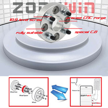 2PCS Zontwin Alloy Aluminum Wheel Spacers15mm  4x100-56.1 suit for MINI Free shipping(China (Mainland))