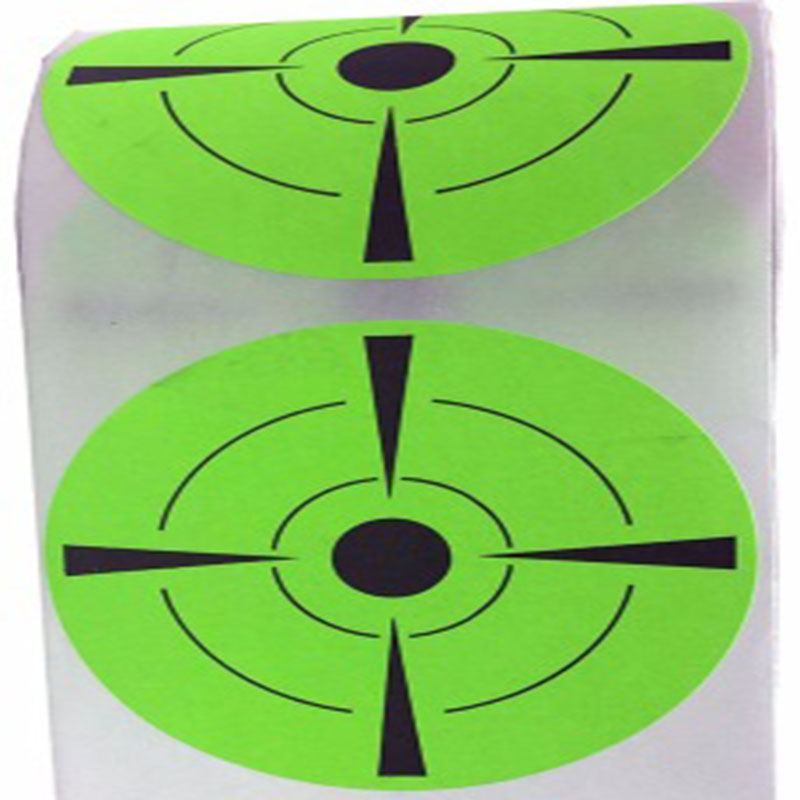 """Target Sticker Qty 250pcs 3"""" Rated Self Adhesive Targets for Shooting labels(China (Mainland))"""