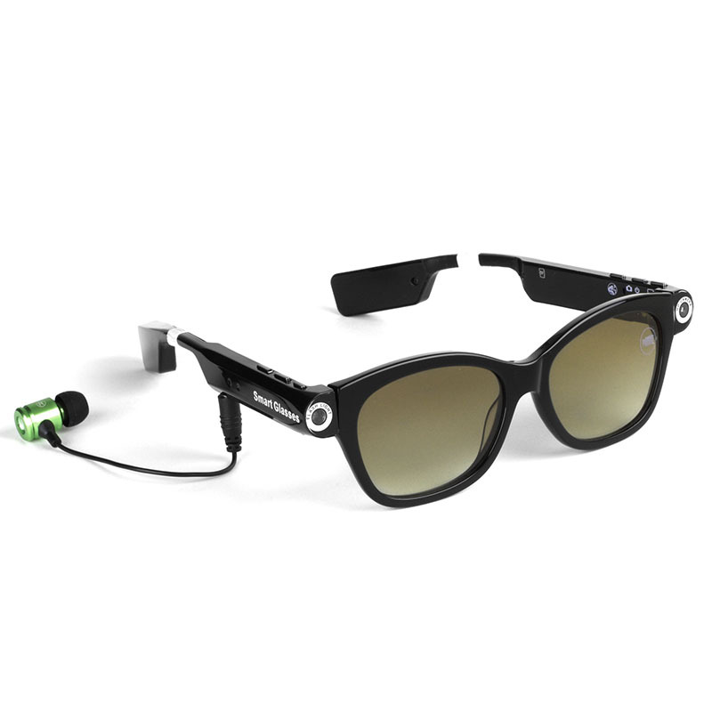 Bluetooth Sunglasses Smart Glasses Music Stereo MP3 Player Video Camera Polarization Sport Glasses Sleepy Reminder