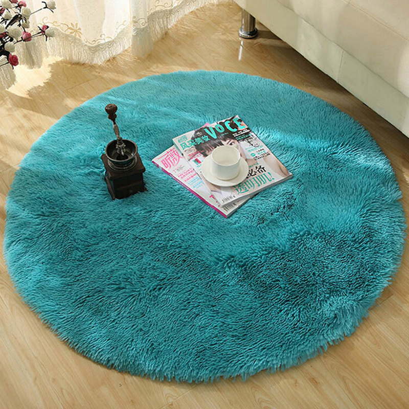 shaggy round rugs and carpets for living room bedroom carpet rug