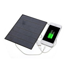 New 6V 3.5W Solar Power Panel Charger USB Portable Solar Charger Device Solar Panel to Phone Sun Panel Solar Board Power Source(China (Mainland))