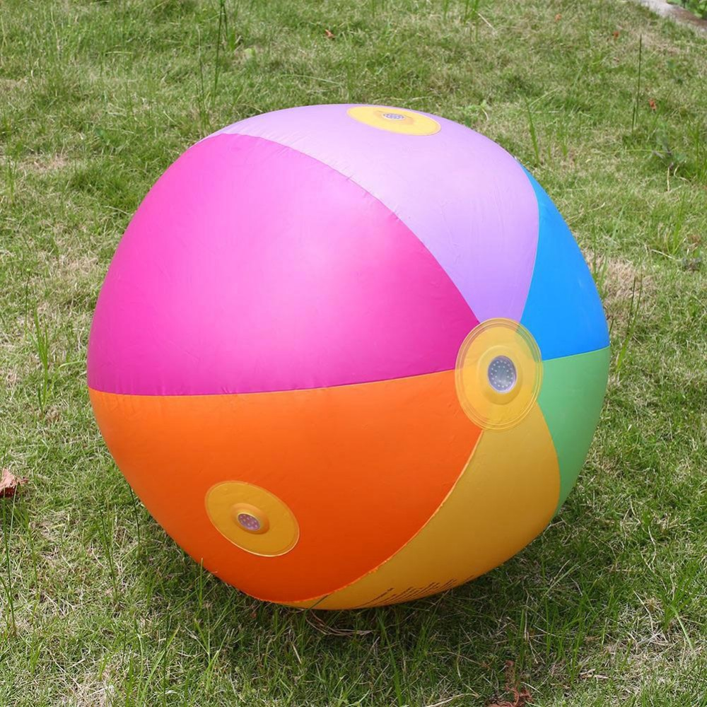 Little Ball Toys : Ultimate beach ball sprinkler children inflatable toy