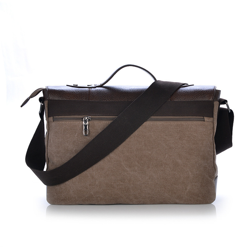 Newest Retro Fashion Cavas Messenger Bag School Shoulder Travelling Bag Women And Man Bag 3 Colors