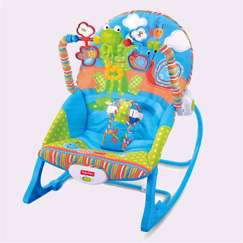 Baby Music Shaking Rocking Chair Infant Appease Bouncers,Jumpers & Swings Baby Recliner Suitable and Safe(China (Mainland))