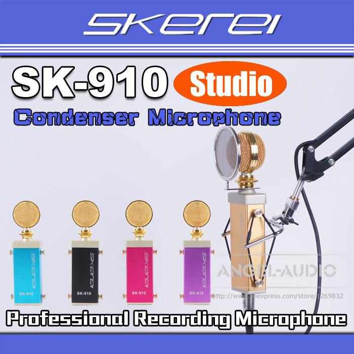 Микрофон 5/skerei sk/910 SK-910 Recording Broadcasting Mic
