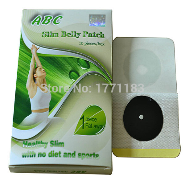 3 boxes, 30 patches for 1 month supply, Slim belly patch, navel magnetic weightloss pad, fat burning fast, shipping free(China (Mainland))