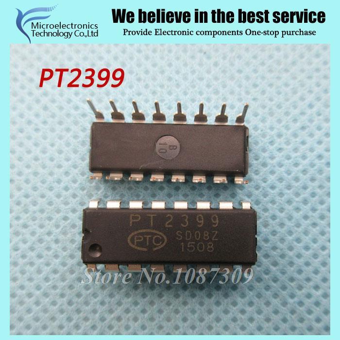 50pcs free shipping PT2399 DIP-16 Audio digital reverberation circuit IC new original(China (Mainland))