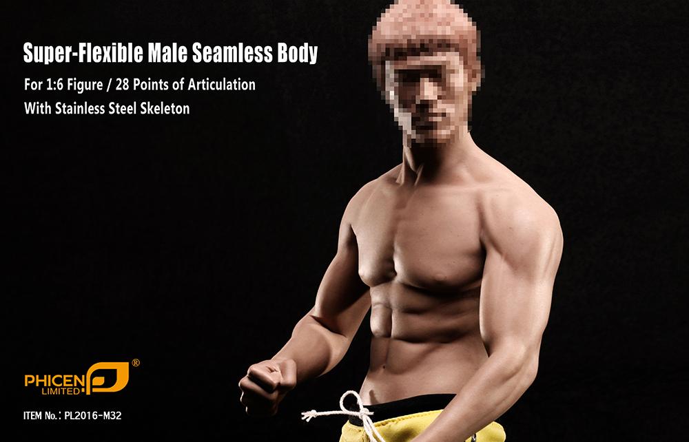 "PHICEN PL2016-M31 1//6 Flexible Stain Body  Fit for 12/"" Male Figure Model PRESALE"