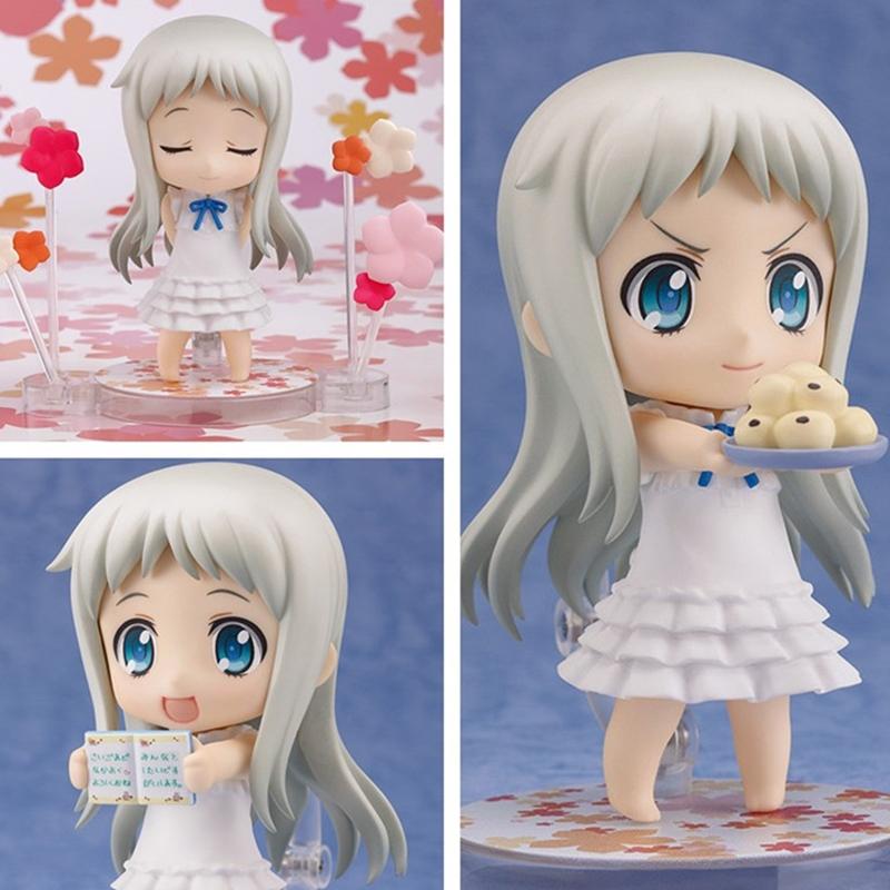 "10cm Japanese anime Nendoroid Menma Ano Hi Mita Hana no Namae o Bokutachi wa Mada Shiranai PVC 3.9""Action Figure(China (Mainland))"