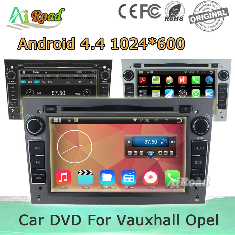 Free Shipping Android 4.4 1024*600 Capacitive Screen Car DVD Player for Vauxhall Opel Astra H G J Vectra Antara Zafira Corsa GPS(China (Mainland))