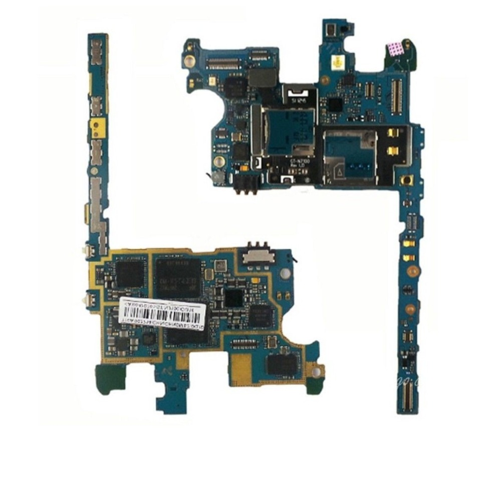 Original Motherboard For Samsung GALAXY note2 n7100 Mainboard Board free shipping ,international Language