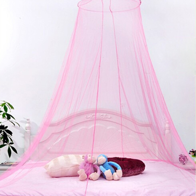 Baby Crib Mosquito Net Care Decoration White Insect Fly bed Canopy Netting Curtain Dome Mosquito Net High Quality PA679124(China (Mainland))