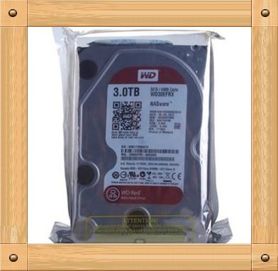 Free shipping New genuine Desktop 3TB WD30EZRX 3T red plate 64M NAS dedicated hard drive(China (Mainland))